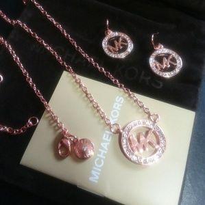 Michael Kors Rose Gold Matching Set